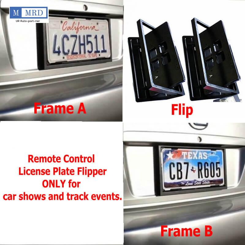 Us Standard Brand New Flipper License Plate Frame